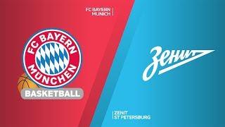 FC Bayern Munich - Zenit St Petersburg Highlights | Turkish Airlines EuroLeague, RS Round 13
