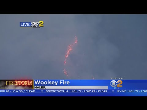 Woolsey Fire: Bad Air Quality In Malibu