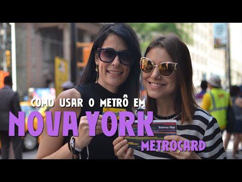 Como usar o metrô em Nova York? Parte 1 - Metrocard