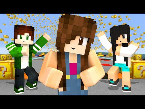Minecraft Lucky Block - CÉU DE LUCKY BLOCK!