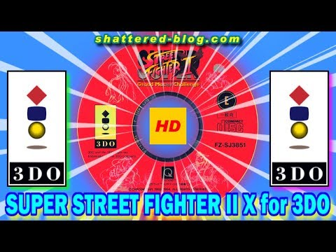 Zangief,T-Hawk in SUPER STREET FIGHTER II Turbo for 3DO on GV-VCBOX