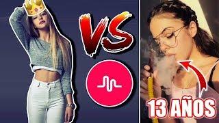 Video LA REINA DE MUSICALLY VS CHICA DE 13 AÑOS download MP3, 3GP, MP4, WEBM, AVI, FLV Mei 2018