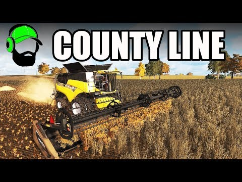 Farming Simulator 17 - County Line - We need the straw  #FS17