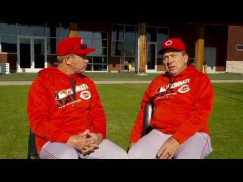 Johnny Bench Reds Hall Of Famer Youtube