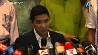 MB : Azmin Kritik Wan Azizah