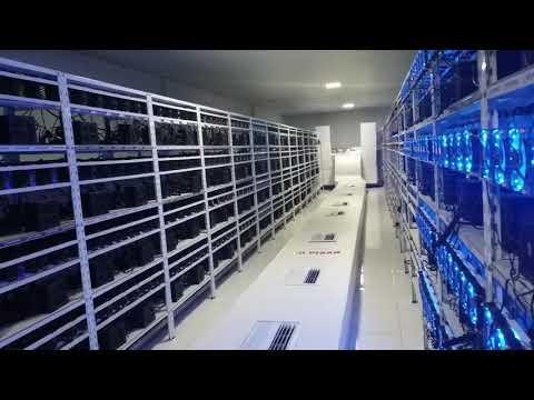 Inside AWS Mining Farm Paraguay