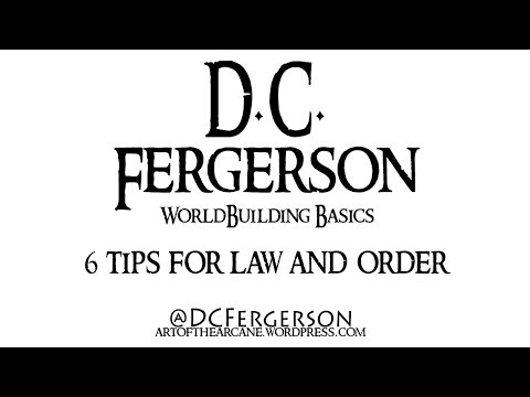 Worldbuilding Basics - 6 Tips for Law and Order