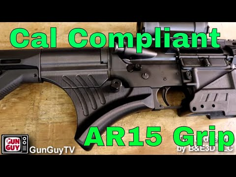 A New Grip to Make Your AR15 California Legal