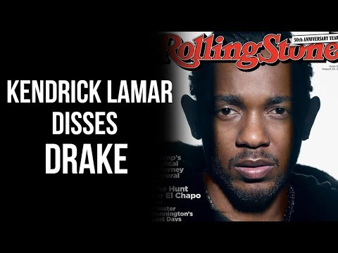 """Kendrick Lamar Takes Shots At Drake In New Interview.... """"I Can't Be The Best With A Ghostwriter"""""""