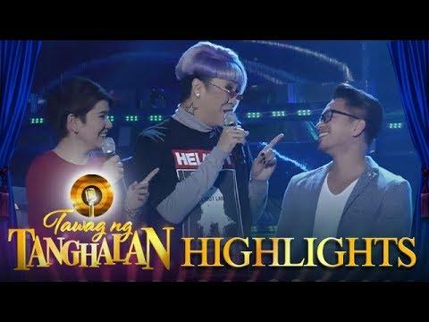 Tawag ng Tanghalan: Jhong announces the wrong name