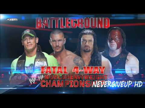 "WWE Battleground 2014 Official Theme song ""Jungle"" link download HD"