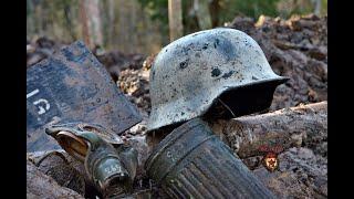 Тайна белого немецкого шлема The Secret Of The White German Helmet