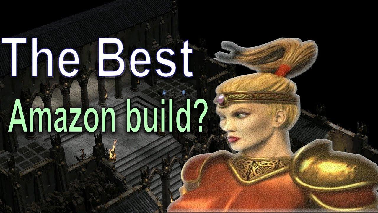 Diablo 2: The best Amazon build? Diablo Meta Series - Strafe vs Multishot? - YouTube