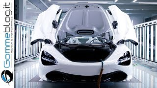 McLaren Automotive - HOW IT'S MADE a Supercar - PRODUCTION FACTORY