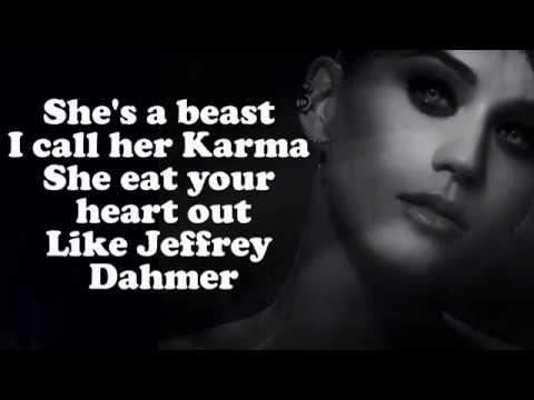 Katy Perry   Dark Horse Ft  Juicy J Lyrics On Screen CDQ
