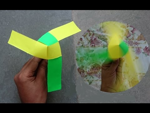 How to Make a Rotating Paper Fan | Origami