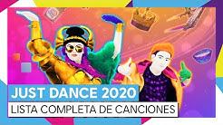 JUST DANCE 2020 - LISTA COMPLETA DE CANCIONES [OFICIAL]