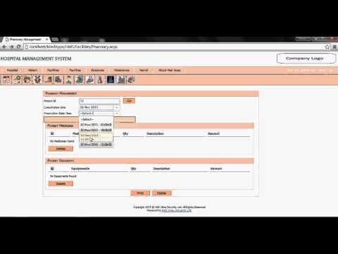 Web Based Hospital management Software full version free download