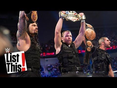 6 best rookie years: WWE List This!