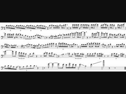 Nichol Thomson 'Regulator' Trombone Solo Transcription