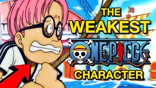 The WEAKEST Character in One Piece Canon | One Piece Power Levels Discussion  | ワンピース