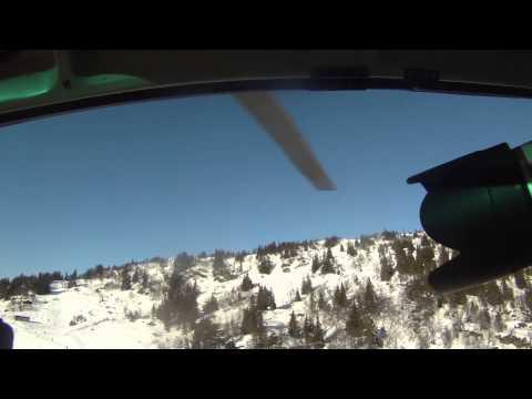 Fotooppdrag i helikopter (2013)
