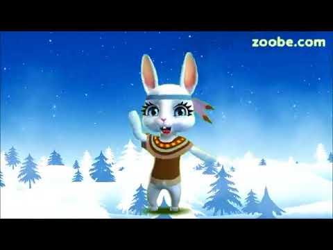 Zoobe Зайка Поздравление с Новым Годом! - Как поздравить с Днем Рождения