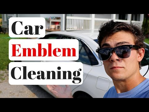 How To Clean Car Emblems