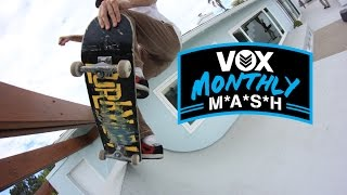 Vox Monthly Mash - Skateboarding - Mansion Quarterpipe! Diy Spots, Backyard Bowl & More