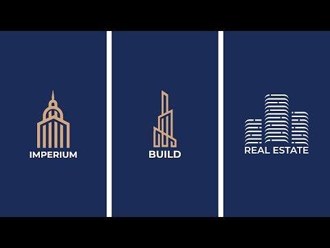 How to Design a Real Estate Logo - House Logo Design in Adobe Illustrator Bangla Tutorial