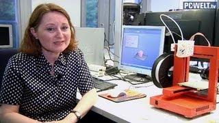 Gegenstände selber herstellen: 3D-Drucker