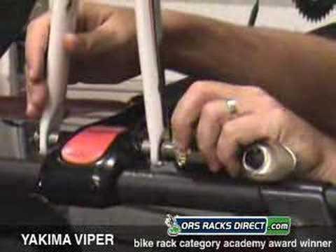 yakima viper bike rack review video demo 8002000