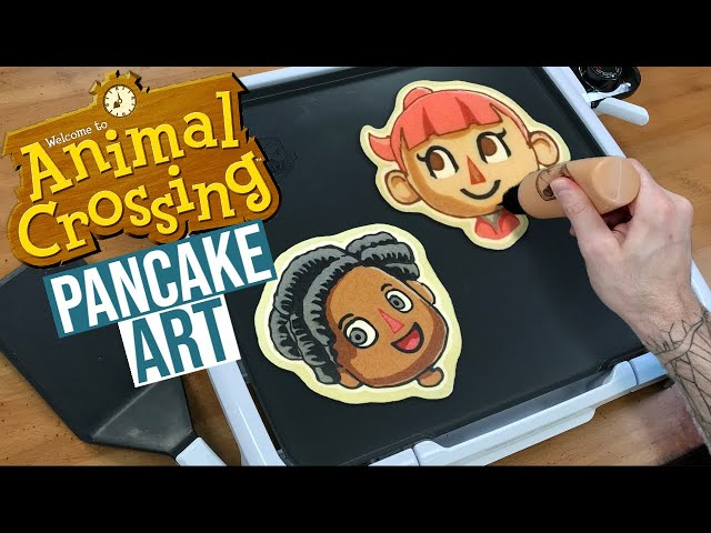 Animal Crossing Pancake Art