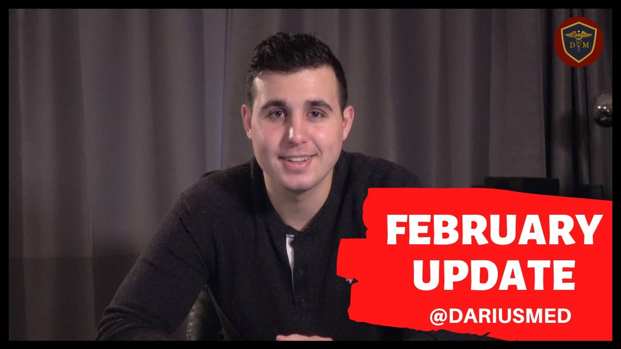 Darius Med School Update | ACS & Plastic Surgery | February 2020 #Generalsurgery