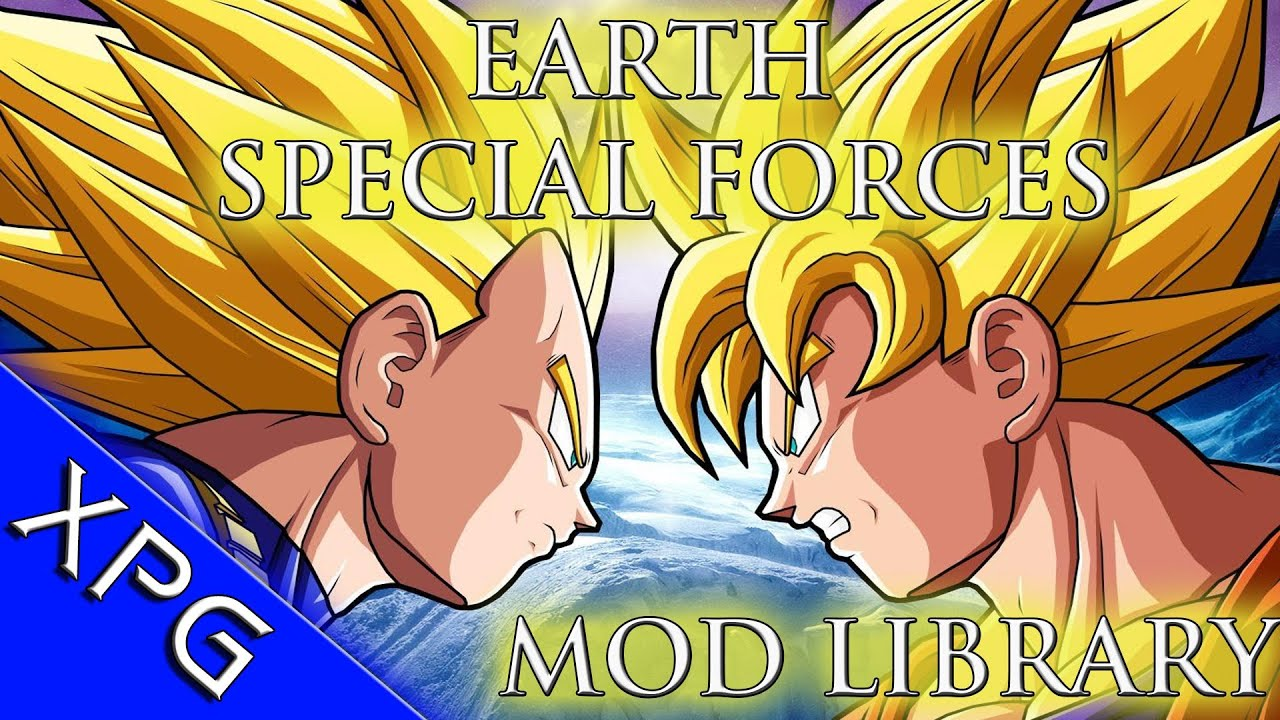 Download Earth Special Forces - Dragon Ball Z - DBZ - Mod Library