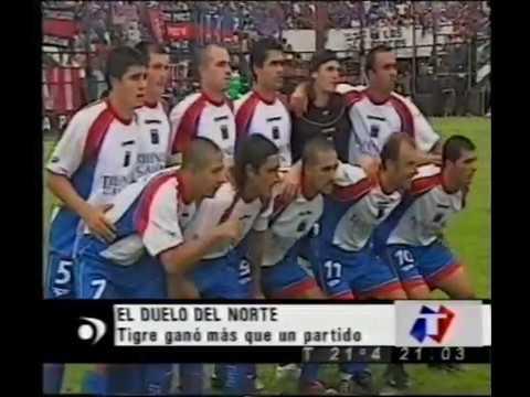 Primera B Apertura 2004 - 27/11 Resumen TN - Platense 0 - Tigre 2 (Luna y Peralta Cabrera)