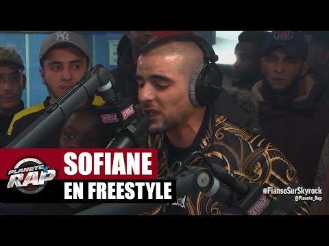 Sofiane en freestyle dans #PlanèteRap