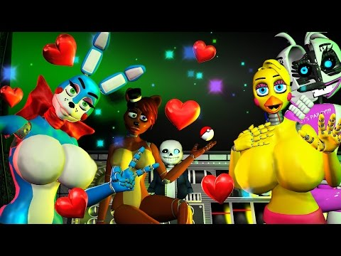 FIVE NIGHTS AT ANIME SISTER LOCATION JUMPLOVE COMPILATION SFM