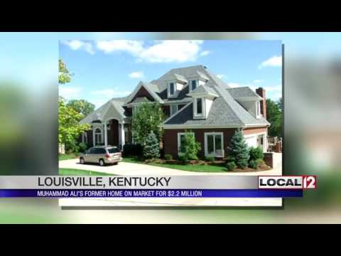 Muhammad Ali's former home for sale