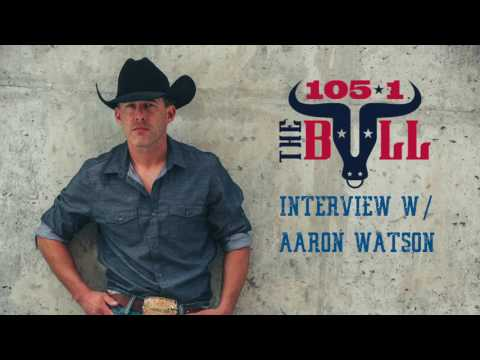 105.1 The Bull Interviews: Aaron Watson (HD)