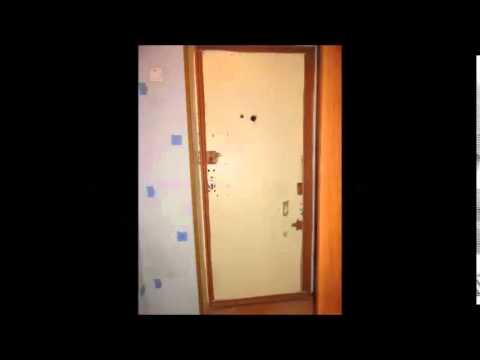 Как обшить дверь мдф панелями 110