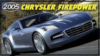 2005 Chrysler Firepower Concept - The Luxury GT Coupe Chrysler Needed to Battle Corvettes!
