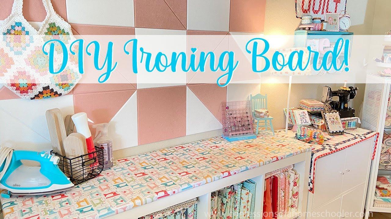 Easy Diy Ironing Board Tutorial Youtube