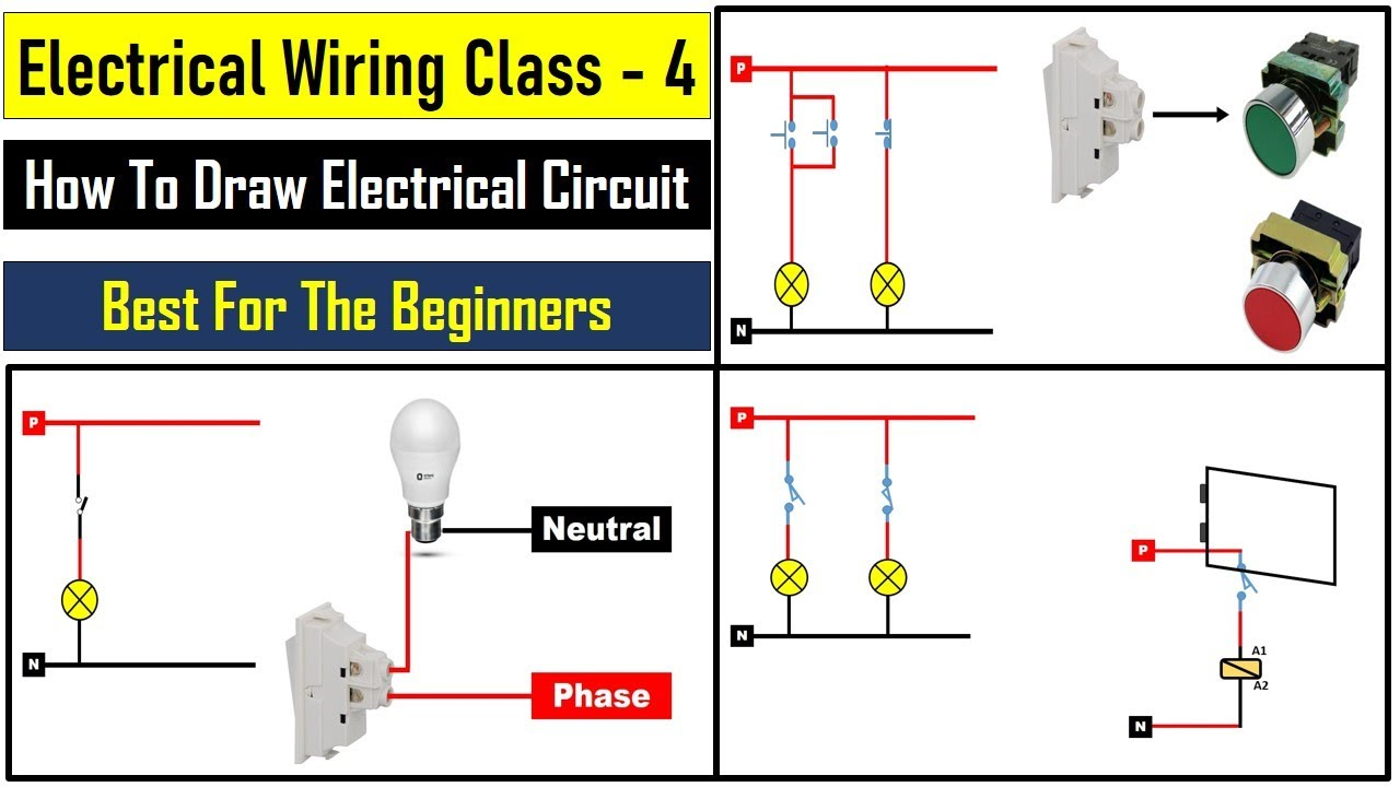 Basic Electrical Wiring Tutorial For beginners    Electrical wiring class 4   Electrical Technician