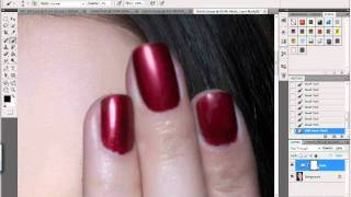 Nail, and Fingertip Photoshop Tutorial