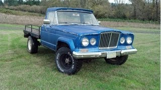 Fixing up a old Jeep gladiator