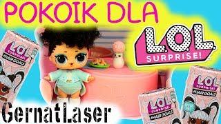 LOL Surprise  Meblowanie pokoju dla lalek Hair Goals  Domek od GernatLaser