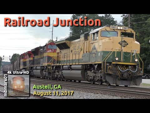 [5R][4k] Railroad Junction Austell, GA 08/11/2017 ©mbmars01