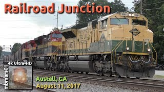[5R][4k] Railroad Junction Austell, GA 08/11/2017 ©mbmars01