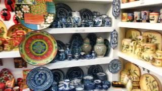 Una tienda de ceramica en Frigiliana